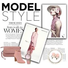 Fashion Trendy Outfit Elegant Pink Lady Style