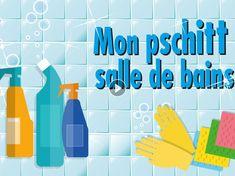 Chers, polluants, et souvent nocifs, les sprays pour la salle de bain ne sont pas une panacée. Découvrir notre recette si simple et si efficace, c'est... Desperate Housewives, Natural Cleaning Products, Save The Planet, Clean House, Cleaning Hacks, Bar Chart, Bubbles, Homemade, Sprays