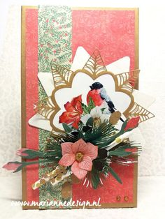 Christmas in July! Christmas Cards 2018, Christmas In July, Petra, Marianne Design Cards, Big Shot, Cardmaking, Paper Crafts, Gift Wrapping, Design Inspiration