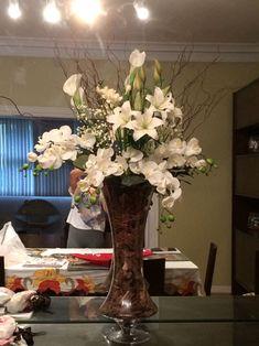 arranjos florais artificiais para mesa jantar - Pesquisa Google