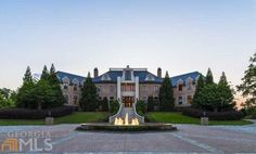 Front Exterior - Tyler Perry Lists His 34,000 Square Foot Atlanta Mega Mansion For $25 Million