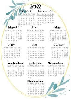 2020 to 2022 calendar Onesheets Printable Yearly Calendar, Free Printable Calendar Templates, Excel Calendar Template, Blank Calendar, Print Calendar, 2021 Calendar, Planner Template, Printable Planner, Resume Templates