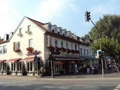 Cafe Shuster, Kaiserswerth, Dusseldorf, Germany.