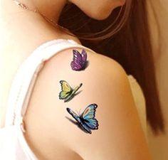 Temporary Tattoo Tatoo For Man Weman Waterproof Stickers makeup maquiagem make up in my heart Tattoo