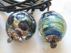 Lucinda Storms : Belvedere Beads - glass pendants