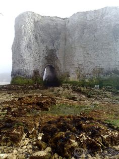 Archway in the Cliffs at botany Bay, Kent