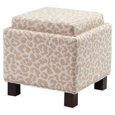 Lizette Upholstered Storage Ottoman