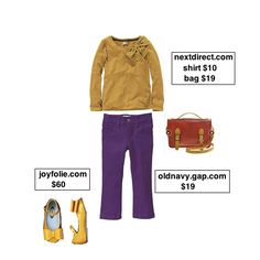Taylor Joelle Designs: Children's Style Guide - Back to School