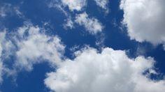 Clouds 0301: Time lapse white clouds sail across a blue sky.     A Luna Blue   https://www.alunablue.com   Imagery for Your Imagination