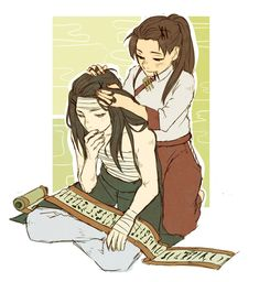 Neji and Tenten. I find this so adorable.