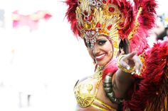 More than one million people are expected to enjoy this year's Notting Hill Carnival in London, England. It is the largest street festival in Europe and was first held in 1964 by the Afro-Caribbean community.  (AP)  #Europe #Festivals #Travel