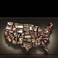 Wall bookshelf!