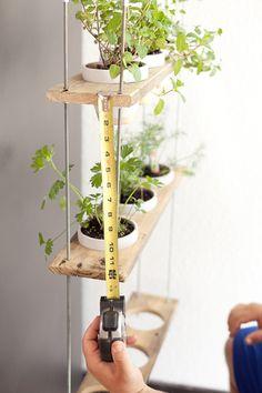DIY Hanging Herb Garden - Hanging Herb Garden DIY by popular Florida lifestyle blogger Fresh Mommy Blog