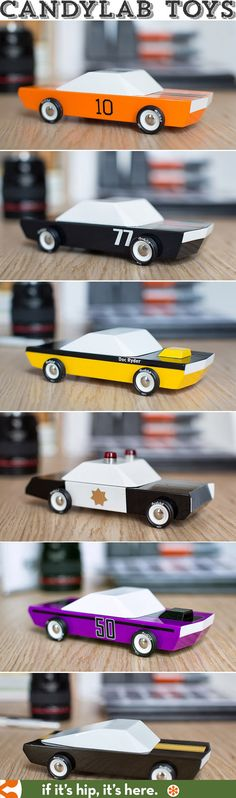 Wood Cars by Candylab Toys