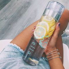First of all, that's a lottttt of lemons. I put lemon in my water every day. My skin tho. It also reduces stress.