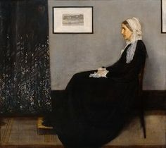 Arrangement in grey and black no. 1 (Portrait of the artist's mother) (1871) by James McNeill Whistler