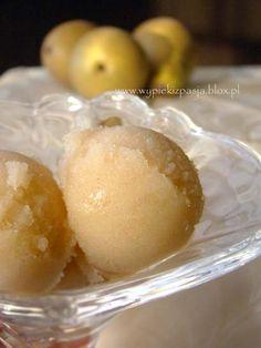 Gruszkowy sorbet/ Pear sorbet