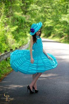 Me in my balloon dress!!