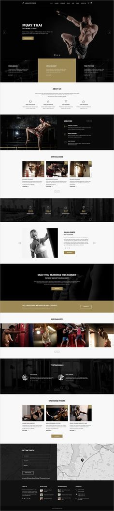Absolute Fitness is a modern and functional PSD #Template for #muay #Thai #training sports clubs in different directions: Fitness, GYM, Bodybuilding, Boxing, Dancing, Yoga, Personal Trainer website with 13 unique homepage layouts and 46 organized PSD pages download now➩ https://themeforest.net/item/absolute-fitness-psd-template/18599187?ref=Datasata