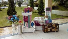 Inspiração de decoração para seu evento personalizado. Event Decor, Wedding Decoration, Events