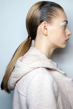 Sacai - Best Hair Trends Fall 2015 - Top Hairstyles For Fall as Seen on the Runway for Hapers Bazaar