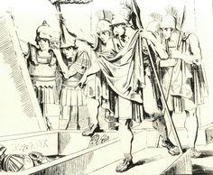 Όταν η εξουσία «συμμαχεί» με την αρχαιολογία. Γράφει ο Τάκης Κατσιμάρδος //  http://fractalart.gr/o-kimon-i-skiros-ke-o-timvos-stin-archea-amfipoli/ #ancient #Greece #power #politics #amfipoli