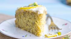 When life gives you lemons, ditch the lemonade. Make this poppy seed lemon cake with lemon infused cream cheese frosting instead. Get the full recipe here: h. Amazing Chocolate Cake Recipe, Best Chocolate Cake, Cake With Cream Cheese, Cream Cheese Frosting, Cake Recipes, Dessert Recipes, Lemon Recipes, Sweet Recipes, Mango Cheesecake