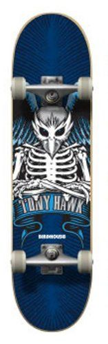 Birdhouse Skateboards Iconic Blue Complete Skateboard, 7.75-Inch Birdhouse http://www.amazon.ca/dp/B00EBC63VS/ref=cm_sw_r_pi_dp_J3u4tb0TMQKFK