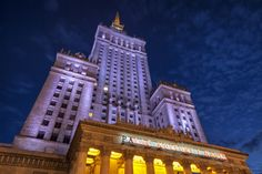 Palace of Culture and Science, Warsaw Warsaw Poland, Cityscapes, Empire State Building, Palace, Science, Culture, Travel, Viajes, Palaces