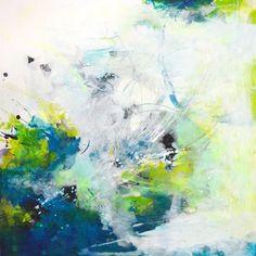 Tirage dart grande peinture abstraite art abstrait par ARTbyKirsten
