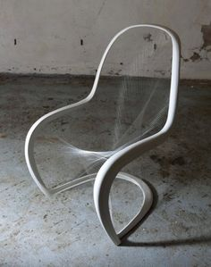 Redesign of the Panton Chair by Jump Studios