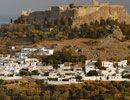 Acropolis of Lindos, Rhodos, Greece