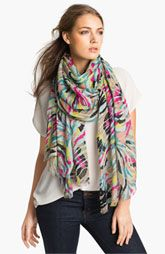 Lulla Collection by Bindya 'Babylon' Staggered Stripe Scarf