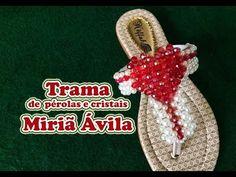 Trama de pérolas e cristais Miriã Ávila - YouTube