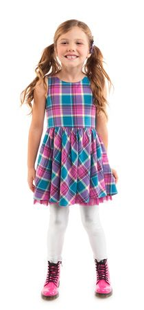 Plaid Happy Outfit