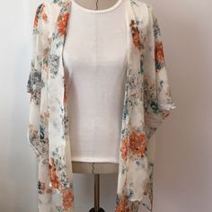Host PickFloral Cover Perfect light cover for the spring/summer! Questions? Comment below Essential Style Host Pick Sweaters Cardigans