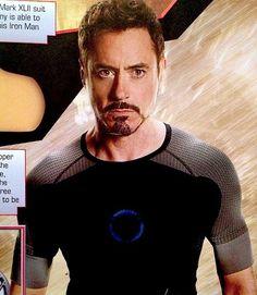 Robert Downey Jr. as Tony Stark, Iron Man 3