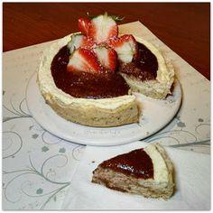 """Recetas Verofortyfit     """"Healthy and Delicious Food"""": APPLE CHEESE CAKE rápida en microondas"""