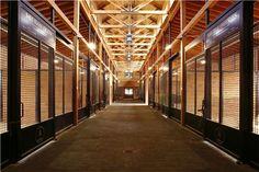 Horse Barns with Living Quarters | Stallion Horse Barn #1005