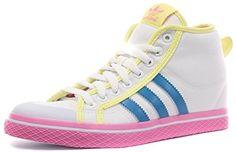 adidas Honey Stripes Up Damenmittelhohe Turnschuhe - Schuhe - Weiß - http://on-line-kaufen.de/adidas/adidas-honey-stripes-up-damenmittelhohe-schuhe