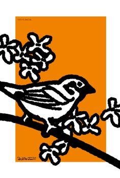 秋スズメ Sparrow