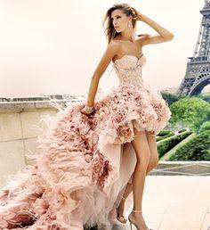 Pink Wedding Dress 2