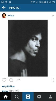 Prince on Instagram