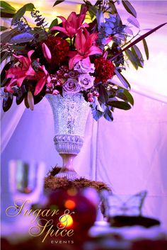 Enchanted Garden Wedding / Midsummer Nights Dream Wedding by Sugar & Spice Events.  Held on the Gold Coast at Polly's Country Kitchen.