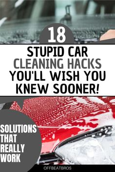 Car Cleaning Hacks, Household Cleaning Tips, House Cleaning Tips, Cleaning Solutions, Cleaning Supplies, Cleaning Headlights On Car, Car Facts, Car Care Tips, Clean Your Car