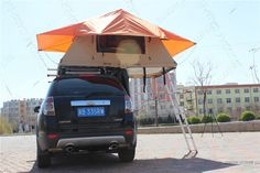 Roof top tent, hunting blind tent, camper trailer tent,fishing tent sundaycampers - Google+