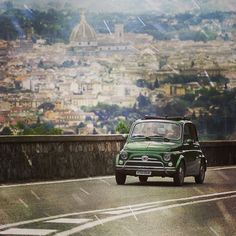 #Fiat500 and Florence #Italy