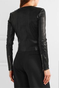 Elizabeth and James | Helen stretch-leather jacket | NET-A-PORTER.COM