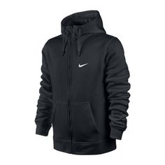 Bluza Nike Club FZ Hoody-Swoosh (611456-010) Worldbox.pl