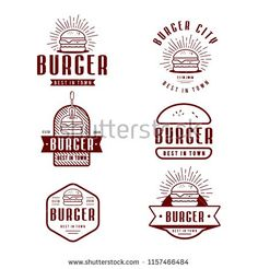 Find Fast Food Logo Design Retro Cartoon stock images in HD and millions of other royalty-free stock photos, illustrations and vectors in the Shutterstock collection. Food Logo Design, Food Truck Design, Logo Food, Logo Restaurant, Logos Vintage, Fast Food Logos, Logan, Best Food Trucks, Design Retro